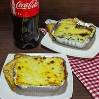 Lasagna de Pollo con Champiñones En Combo con Gaseosa