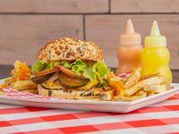 Burger Clásica + Papas