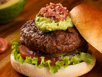 Angus Bacon & Guacamole Juicy Lucy