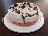 Torta helada de Americana con frutilla
