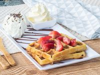 Waffle Belga Dulce
