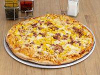 Pizza Pollo, Maíz y Tocineta
