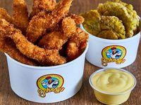 Chicken Tenders (6 unidades) + 1 Acompañamiento +  1 Salsa