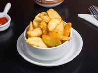 Papas fritas rústicas 1/4 kg