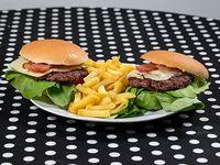 Dos hamburguesas especial
