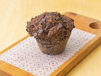 Muffin de chocolate con chips