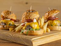 Mini Zorros burgers