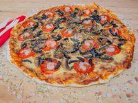 Pizza caprese receta de la casa