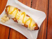 Plátano maduro con queso