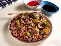 Chop Suey con Roask Pork