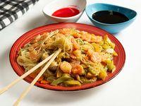 Chow Mein de Camarón