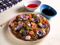 Chop Suey de Mariscos
