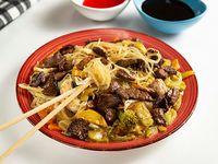 Chow Mein con Lomito de Res