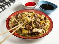Chow Mein con Roask Pork