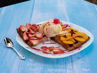 Waffle Two Fruit (2 Frutas)