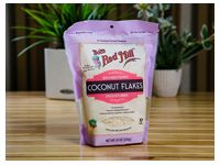 Harina Bob´s red mil unsweetened coconut flakes unsulfured