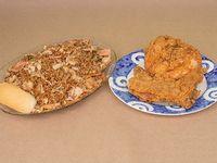 Caja de Arroz Chino Especial con 1/2 Pollo
