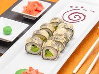 Roll envuelto nori tempura