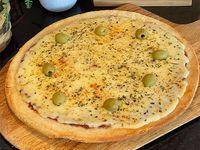 Promo 7 - Pizza Grande de Muzzarella + 2 faina