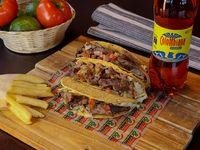 Combo Trío Tacos Res