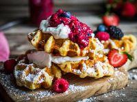 Promo Waffle + Helado