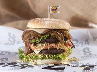 Burger Doble Sin Cebolla Stop 24