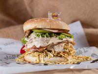 Burger Pollo Salsa Champiñones Stop 24