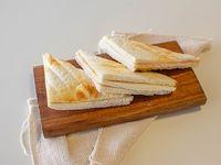 Sándwiches de miga de jamón y queso (3 unidades)