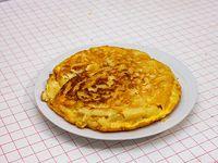 Tortilla de papa y cebolla