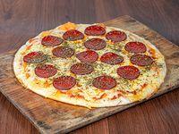 Pizzeta con pepperoni