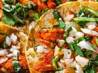 Tacos de Tinga de Zanahoria x3