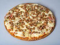 Pizza catupiry con pollo