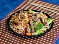 Combo Beef Oriental Mixto