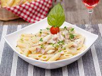 Pasta Carbonara con Pollo