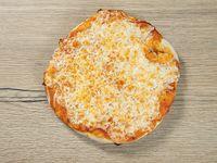 Pizza con queso