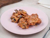 Estofado de bondiola con verduras asadas