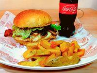 Combo Burger Pollo