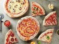 Combo per tutti - 4 pizzas individuales estilo napolitano + 4 bebidas
