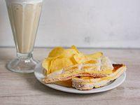 Promoción - Licuado + Sándwich tostado de jamón y queso