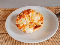 Tartaleta de calabaza y queso