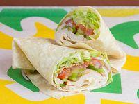 Wrap o Burrito de Jamón de Pavo
