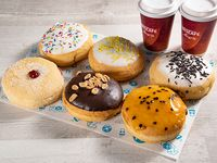 Promo 6 Donuts + 2 Café 8oz