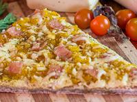 Pizza Hawaiana en Porción