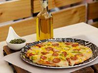 Promo de Pizza Junior + 1 Gaseosa Postobón