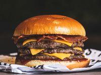Triple vikinga burger