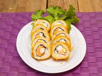 Alaska hot pal roll (10 piezas)