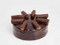 Torta de chocolate (porción de torta carrera)