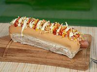 Hot Dog - Perro caliente - Pancho al estilo Venezolano