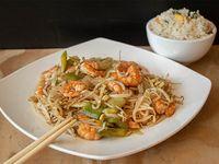 Colación - Chapsui de camarones con arroz chaufan