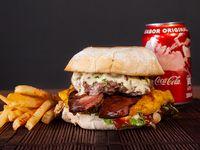 Combo Se Descontrola Burger